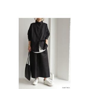 ボトムス スカート ロング レディース 綿100% ボタンデザインスカート・10月2日20時〜再販。「G」##メール便不可|antiqua|20
