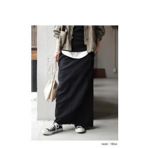 ボトムス スカート ロング レディース 綿 綿100% セットアップ ヴィンテージフリンジスカート・10月5日20時〜発売。##メール便不可|antiqua|13