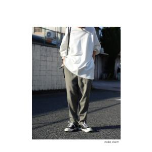 ボトムス パンツ テーパード レディース ベルト付き ベルト付きテーパードパンツ・1月15日20時〜発売。##メール便不可|antiqua|03