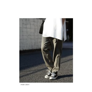 ボトムス パンツ テーパード レディース ベルト付き ベルト付きテーパードパンツ・1月15日20時〜発売。##メール便不可|antiqua|08