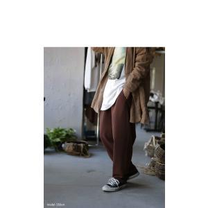 ボトムス パンツ テーパード レディース タック 長ズボン タックテーパードパンツ・1月15日20時〜発売。(80)メール便可|antiqua|08