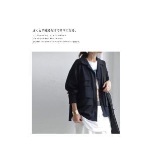 トップス シャツ 長袖 レディース オープンカラー セットアップ 開襟フィッシングシャツ・2月15日20時〜再販。##メール便不可|antiqua|12