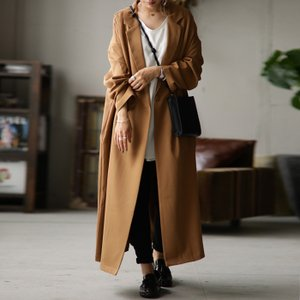 ジャケット レディース アウター コート 長袖 ロングコート・7月10日0時〜発売。メール便不可|antiqua