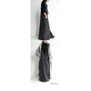 ワンピ ワンピース サロペット レディース ジャンスカ デニムストレッチサロペスカート・10月9日20時〜発売。##メール便不可|antiqua|09