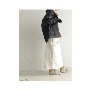 ボトムス スカート タイトスカート レディース 綿 綿100 サロペ サス付きハイウエストスカート・12月28日20時〜発売。##メール便不可|antiqua|04