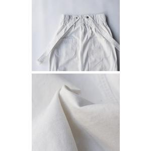 ボトムス スカート タイトスカート レディース 綿 綿100 サロペ サス付きハイウエストスカート・12月28日20時〜発売。##メール便不可|antiqua|09