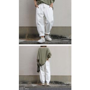 ボトムス パンツ レディース 綿 綿100 カラーパンツ カラーバルーンパンツ・2月15日20時〜発売。##メール便不可|antiqua|10