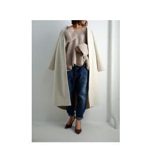 フレア ニット knit トップス  裾フレアデザインニット・再再販。「G」##メール便不可|antiqua|12
