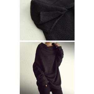 大人可愛い他にはない襟デザイン。デザインニット・再販。##「G」メール便不可|antiqua|03