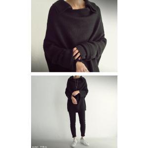 大人可愛い他にはない襟デザイン。デザインニット・再販。##「G」メール便不可|antiqua|04