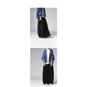 ボトムス スカート シフォン 異素材切替スカート・##メール便不可|antiqua|14