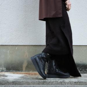 ボトムス スカート ニット アシンメトリー 天竺ニットタイトスカート・12月15日20時〜再販。「G」##メール便不可|antiqua
