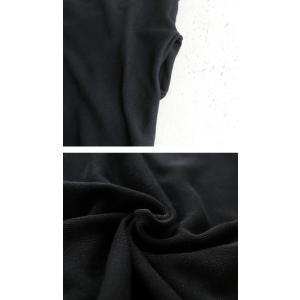 ワンピース ニット 半袖 五分袖 綿混 Vネック ドルマン コクーンワンピ・3月23日20時〜発売。##メール便不可 antiqua 08
