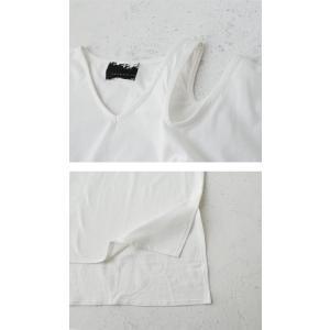 トップス 七分袖 レディース カットソー 綿 綿100% ショルダースリットT・再販。100ptメール便可|antiqua|09
