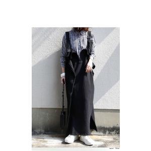 サロペット ワンピース レディース 綿 綿100% 裏毛 変形サロペスカート・12月28日20時〜再販。「G」##メール便不可|antiqua|14