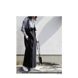 サロペット ワンピース レディース 綿 綿100% 裏毛 変形サロペスカート・12月28日20時〜再販。「G」##メール便不可|antiqua|04