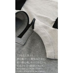 サロペット ワンピース レディース 綿 綿100% 裏毛 変形サロペスカート・12月28日20時〜再販。「G」##メール便不可|antiqua|08