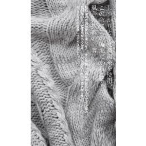トップス ニット セーター 長袖 レディース ケーブルニット Vネックケーブル編みニット・10月23日20時〜発売。##メール便不可|antiqua|09