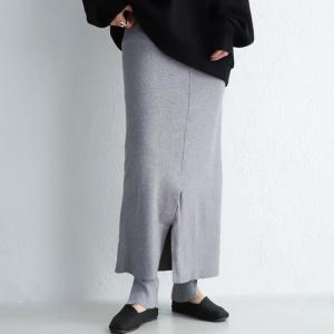 ボトムス スカート タイトスカート レディース 綿 綿100 レギンスドッキングスカート・10月9日20時〜発売。##メール便不可|antiqua