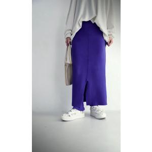 ボトムス スカート タイトスカート レディース 綿 綿100 レギンスドッキングスカート・10月9日20時〜発売。##メール便不可|antiqua|09