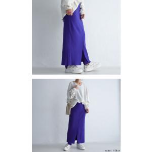 ボトムス スカート タイトスカート レディース 綿 綿100 レギンスドッキングスカート・10月9日20時〜発売。##メール便不可|antiqua|10
