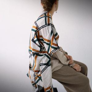 トップス ニット レディース 長袖 スカーフ セーター スカーフニット・再販。メール便不可|antiqua