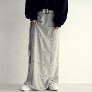 ボトムス ニット タイトスカート レディース 綿100 綿ニットスカート・10月19日20時〜発売。##メール便不可|antiqua