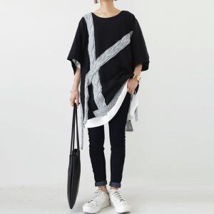 トップス Tシャツ 七分袖 レディース 綿 綿100 ケーブルデザインカットソー・再販。メール便不可|antiqua