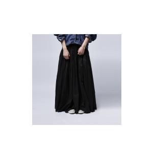 レディース ボトムス スカート 綿 ロングフレアスカート・再再販。##×メール便不可! antiqua 12
