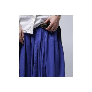 レディース ボトムス スカート 綿 ロングフレアスカート・再再販。##×メール便不可! antiqua 13