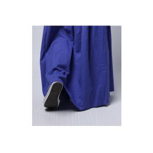 レディース ボトムス スカート 綿 ロングフレアスカート・再再販。##×メール便不可! antiqua 15