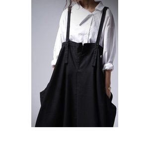 ワンピース サロペット スカート ロング サロペスカート・再販。##メール便不可 antiqua 04