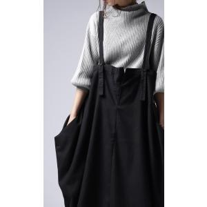 ワンピース サロペット スカート ロング サロペスカート・再販。##メール便不可 antiqua 10