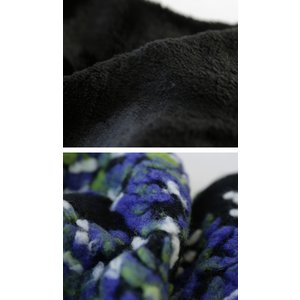 スヌード 大人 お洒落 羊毛 花柄 刺繍 異素材ボリュームスヌード・1月9日20時〜再再販。##メール便不可|antiqua|08