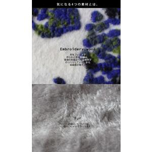 スヌード 異素材 花柄 チェック 異素材柄切り替えスヌード##・10月21日20時〜再再販。メール便不可|antiqua|10