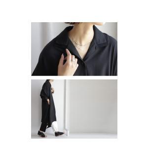 ワンピ シャツ モード シンプル 大人 otonaモードワンピ・1月19日20時〜再再販。##メール便不可|antiqua|11