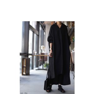 ワンピ シャツ モード シンプル 大人 otonaモードワンピ・1月19日20時〜再再販。##メール便不可|antiqua|03