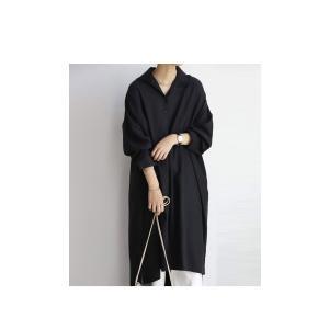 ワンピ シャツ モード シンプル 大人 otonaモードワンピ・1月19日20時〜再再販。##メール便不可|antiqua|04