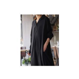 ワンピ シャツ モード シンプル 大人 otonaモードワンピ・3月16日20時〜再再販。 「G」##メール便不可|antiqua|08