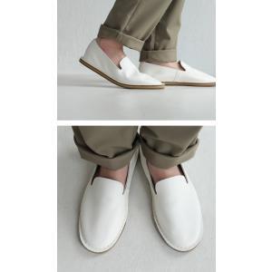 靴 スリッポン 本革 日本製 大人 極やわスリッポン・再販。##メール便不可|antiqua|11