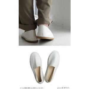 靴 スリッポン 本革 日本製 大人 極やわスリッポン・再販。##メール便不可|antiqua|13