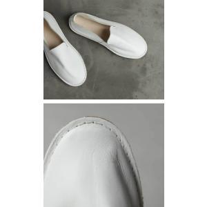 靴 スリッポン 本革 日本製 大人 極やわスリッポン・再販。##メール便不可|antiqua|05