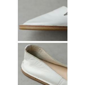 靴 スリッポン 本革 日本製 大人 極やわスリッポン・再販。##メール便不可|antiqua|06
