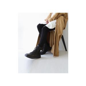 本革 ブーツ 日本製 ブラック 本革スクエア厚底ブーツ・再販。「G」##メール便不可|antiqua|05