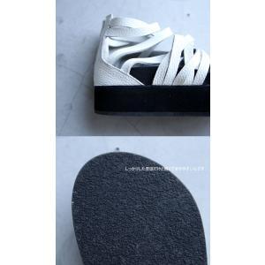靴 シューズ サンダル 本革 日本製 レディース 厚底 プラットフォームサンダル・##メール便不可|antiqua|12