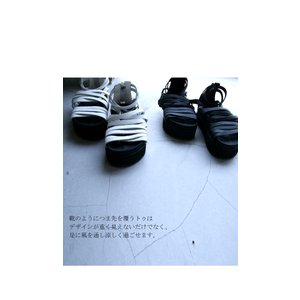 靴 シューズ サンダル 本革 日本製 レディース 厚底 プラットフォームサンダル・##メール便不可|antiqua|15