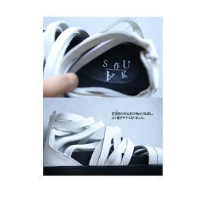 靴 シューズ サンダル 本革 日本製 レディース 厚底 プラットフォームサンダル・##メール便不可|antiqua|16