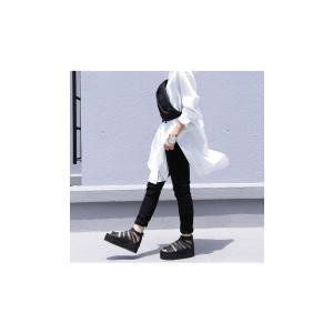 靴 シューズ サンダル 本革 日本製 レディース 厚底 プラットフォームサンダル・##メール便不可|antiqua|04