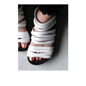 靴 シューズ サンダル 本革 日本製 レディース 厚底 プラットフォームサンダル・##メール便不可|antiqua|05
