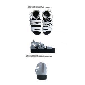 靴 シューズ サンダル 本革 日本製 レディース 厚底 プラットフォームサンダル・##メール便不可|antiqua|07